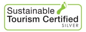 Sustainable Tourism Silver Certified Logo