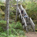 Final Set of Stairs on Trail