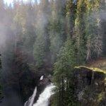 Elk Falls Water Fall