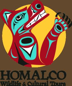 Homalco Wildlife and Culture Tours Logo