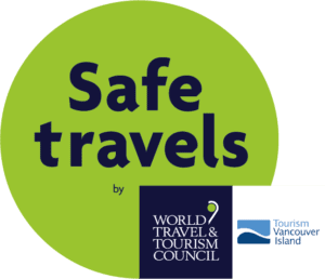 Safe TRavels stamp by the World Travel and Tourism Council