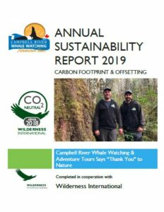 2019 Sustainability Report Cover