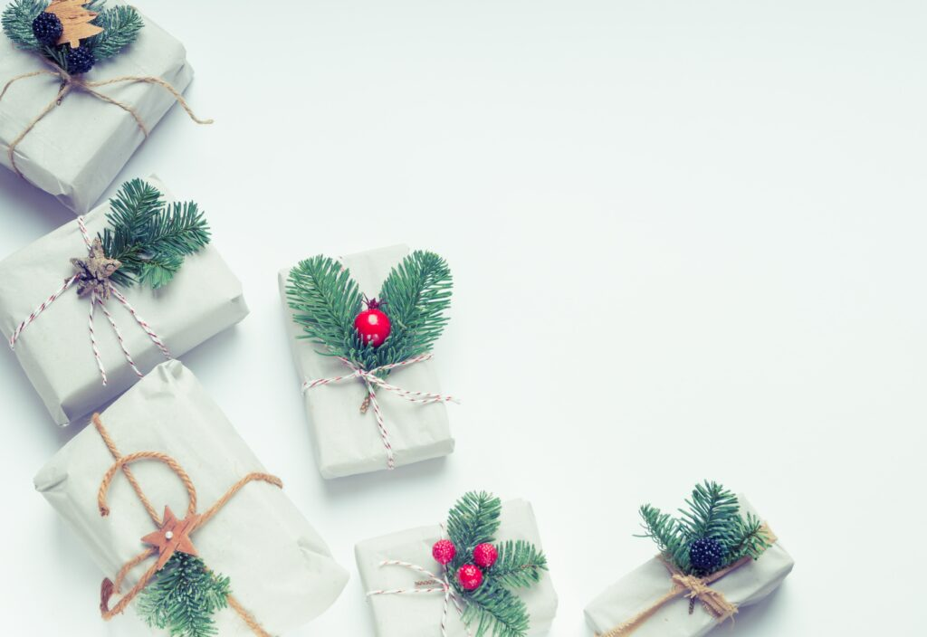 Assortment of Christmas Gifts